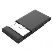 ORICO 2588C3 USB 3.1 Type C External Hard Disk Box Storage Case for 2.5 inch SATA HDD / SSD 9.5mm Laptop PC(Black)