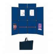 Edimeta Stand expo pliant et portable 8 panneaux