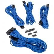Set cabluri modulare Corsair Premium PSU Cable Starter Kit Type 4 Gen 3, cleme incluse, Blue