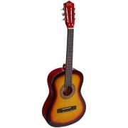 "38"" SUNBURST Acoustic Guitar Starters Beginner Package, Guitars, Gig Bag, Strap, Pitch Pipe Tuner, 2 Pick Guards, Extra String & DirectlyCheap(TM) Pick (SK-AG38) [Teacher Approved]"