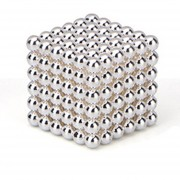 EH Imán Magic Bolas 216pcs Juego de Puzzle magnético 3mm argentado