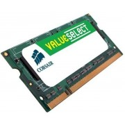 Corsair ValueSelect VS2GSDS800D2 2GB DDR2 SODIMM 800MHz (1 x 2 GB)