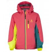 KILPI Dívčí lyžařská bunda SAWA-JG JJ0113KIPNK Růžová 146