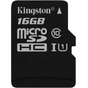 Card Memorie MicroSD Canvas Select class 10 UHS-I 80mb/s 16GB KINGSTON