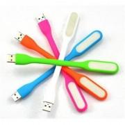 SCORIA 5 Pcs. Portable USB Flexible Mini LED Stick Light Lamp Light 5.7 Watt Led Light(Multicolor)