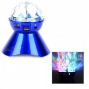 Boxa cu Radio MP3 si Proiectie Lumini Disco Digital Speaker A18
