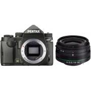 PENTAX KP + 18-50mm RE Preta