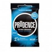 Preservativo Extra Grande E Ultra Sensivel 3 Un Prudence - ShopSensual