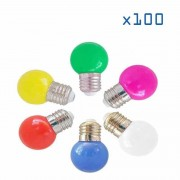 Barcelona LED Pack 100 ampoules 1W E27 - Ampoules LED E27