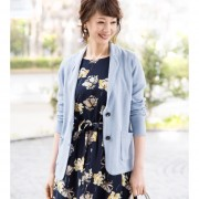CARRIERE テ-ラードニットジャケット【QVC】40代・50代レディースファッション