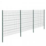 Телена оградна система, две димензии [pro.tec]®, Зелена, 6 x 2 m