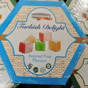 Assorted Fruit Flavoured Turkish Delight 200g