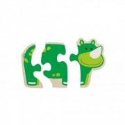 Primul meu puzzle Animale vesele Beleduc 6 animalute