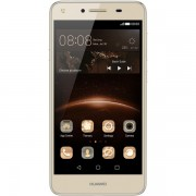 Smartphone Huawei Y5II DS Gold, memorie 8 GB, ram 1 GB, 5 inch, android 5.1 Lollipop
