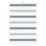Ekelund Kinley Handduk Blå ränder 35x50 cm