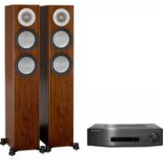 Pachete PROMO STEREO - Monitor Audio - Silver 200 + Cambridge Audio CXA60 Black Oak