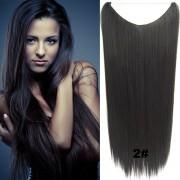 Flip in vlasy - 60 cm dlouhý pás vlasů - odstín 2 - Světové Zboží