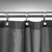 Sealskin Shower Curtain Madeira 120 cm Grey 238501114
