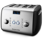 Kitchen Aid KMT423 4 Slice Black Toaster