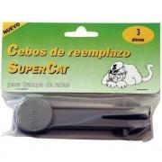 Recambio trampa raton blister 6 unidades supercat