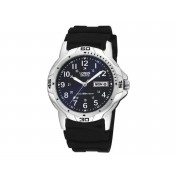 Lorus Gents Blue Face Watch - Model RXN51BX (Black)