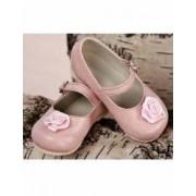 Pantofiori botez bebe fetite eleganti Roses Numarul 20 12.5 cm