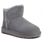 Pantofi UGG - W Classic Mini Fluff High-Low 1103745 Gys