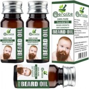 Meralite Natural Beard Oil Pack of 3 Hair Oil (105 ml) (ML-BABY BEARD OIL-35ml-PACK OF 3)