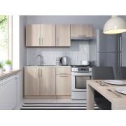 Smartshop Kuchyně NEJBY 120/180 cm, dub sonoma