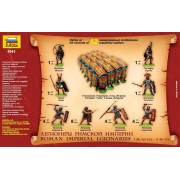 Zvezda Roman Imperial Infantry figura makett 8043