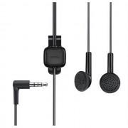 Nokia Auricolare Originale A Filo Stereo Hs-125 - Wh-102 Black Bulk Per Modelli A Marchio