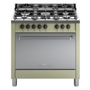 Bompani BC844CA/N cucina elettrica multif. di 90x60 Colore Avorio classe A