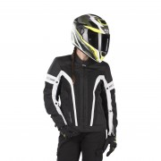 IXS Blouson Moto Femme IXS Sport Larissa-Air 2.0 Noir-Blanc M
