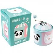 Cutiuță Muzicală - Panda & Cat