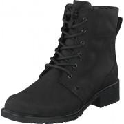 Clarks Orinoco Spice Black Leather, Skor, Kängor & Boots, Kängor, Svart, Dam, 39