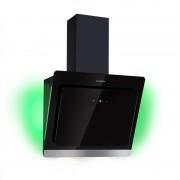 Klarstein Aurora Eco 60, абсорбатор, 550 m³/h, LED дисплей, черен (CGCH3-Aurora60-BL)