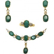 REAL GREEN ONYX PENDANT SETS( LOWEST PRICE)