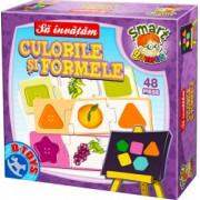 Puzzle 16 piese Sa invatam Culorile si Formele