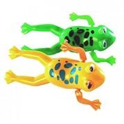 TOOGOOR Swimming Frog Pool Bath Cute Toy Wind-Up Swim Frogs Kids Toy 1