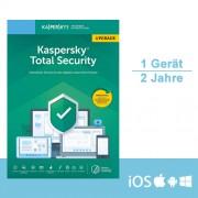 Kaspersky Lab Kaspersky Total Security 2019/2020 Upgrade, 1 Gerät - 2 Jahre, ESD, Download