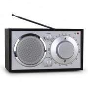 OneConcept Lausanne Nostalgie-Radio schwarz UKW AUX