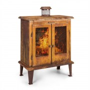 Blumfeldt Flame Locker, огнище, винтидж градинска камина, 58 х 30 см, стомана, ръждясал вид (GDI11-Fire-Locker)
