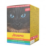 6х70г Filet Josera, консервирана храна за котки - смесена опаковка