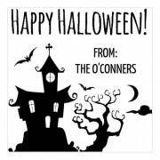 Trodat Tampon monogramme carré - Joyeux Halloween !
