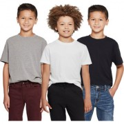 Cliths Sport tshirts For Kids/Boys Cotton Combo Tshirts-Grey Black And White