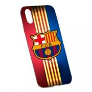 Husa de protectie Football Barcelona Apple iPhone XR rez. la uzura Silicon 237