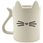 Animal Coffee Mug Cat Mok crème
