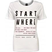 4F Dámské tričko 4F TSD009 Bílé L