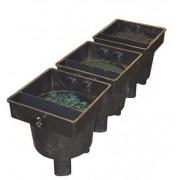 Filtru AquaForte 3 camere (330 litri) si lampa 40watt UV-C