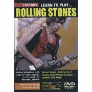 Roadrock International Lick Library: Learn To Play Rolling Stones DVD
